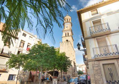 PLAZA DE ESPAÑA y TORRE DEL RELOJ (Ayuntamiento)