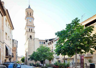 PLAZA FUEROS DE ARAGON y TORRE DEL RELOJ (Ayuntamiento)