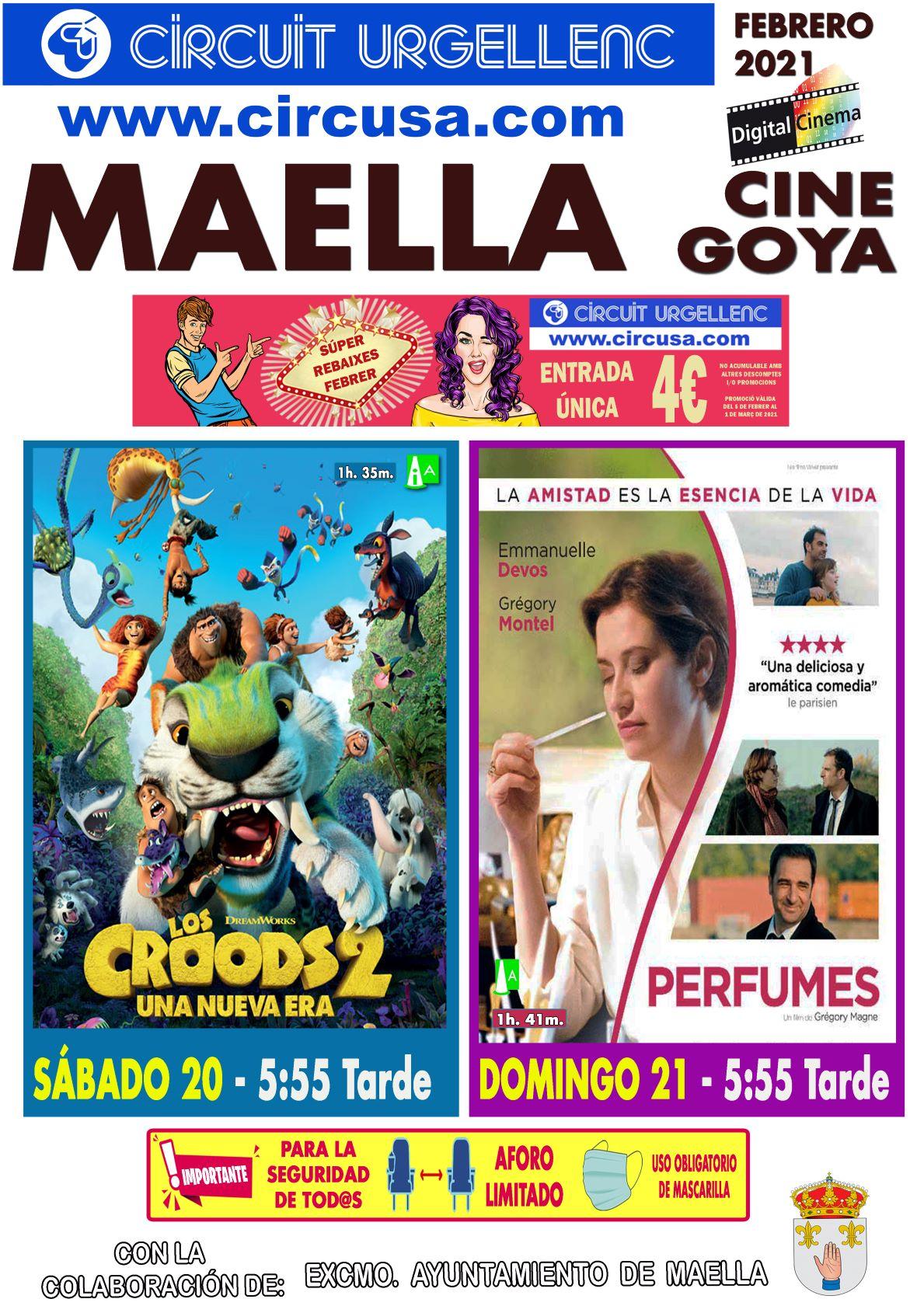 «LOS CROODS 2»  Y «PERFUMES»
