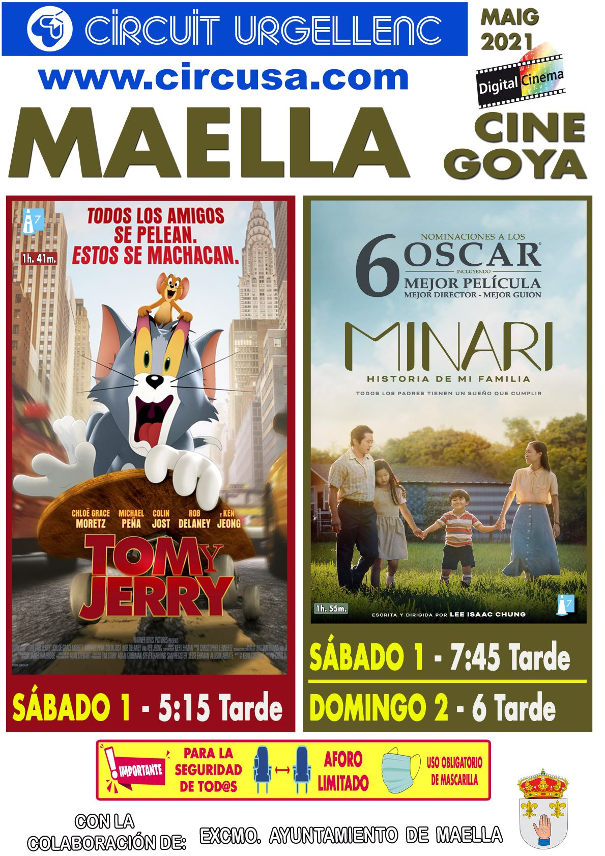 «TOM Y JERRY » – » MINARI» HISTORIA DE MI FAMILIA