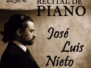 RECITAL DE PIANO A CARGO DE JOSE LUIS NIETO